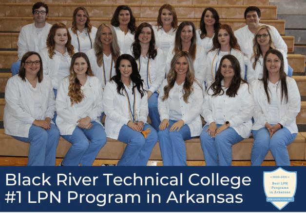 BRTC LPN Program Named Best Arkansas