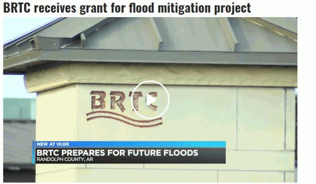BRTC receives grant for flood mitigation project