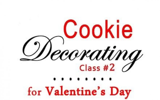 Cookie Decorating for Valentine's Day #2