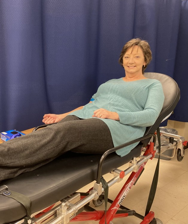 BRTC's Dean for General Studies Reaches 3 Gallons of Blood Donated to the American Red Cross