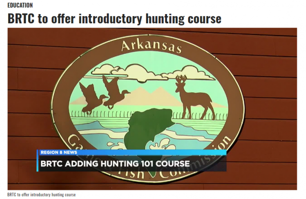 BRTC to offer introductory hunting course