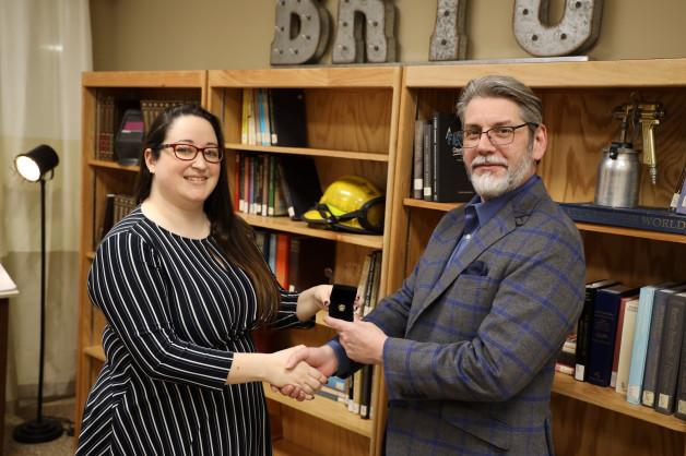 BRTC's Phi Theta Kappa Advisor Honored