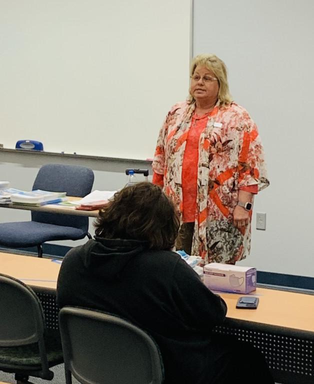 Arkansas Division of Workforce Services Representative Speaks to BRTC Students