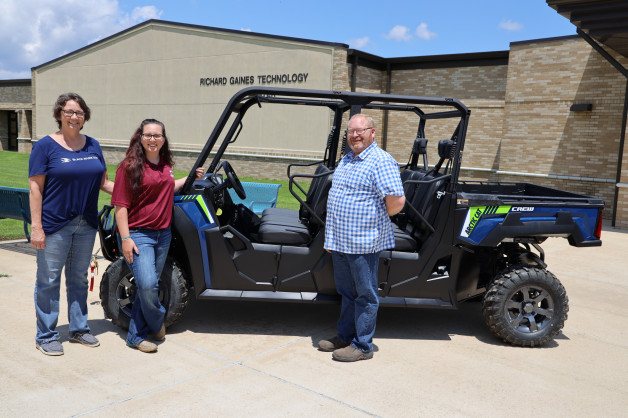 New Side-by-Side purchased for Agri Program with NSF Grant