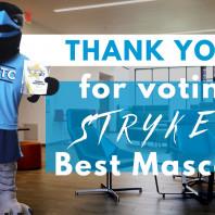BRTC's Stryker Voted Best Mascot
