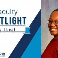 Faculty Spotlight: Aja Lloyd