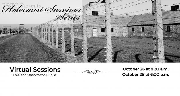 BRTC's Holocaust Survivor Series Dates Announced