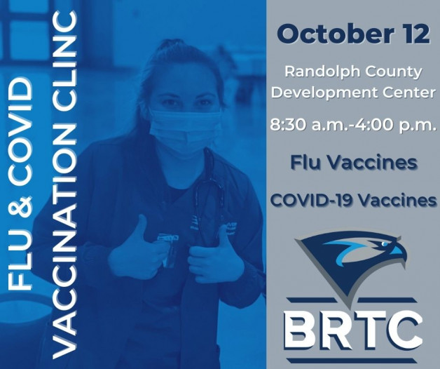 BRTC to Host Flu and Covid-19 Vaccine Clinic