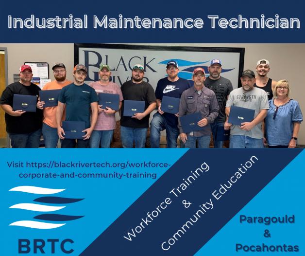 14 Graduate from BRTC's Industrial Maintenance Technician Program