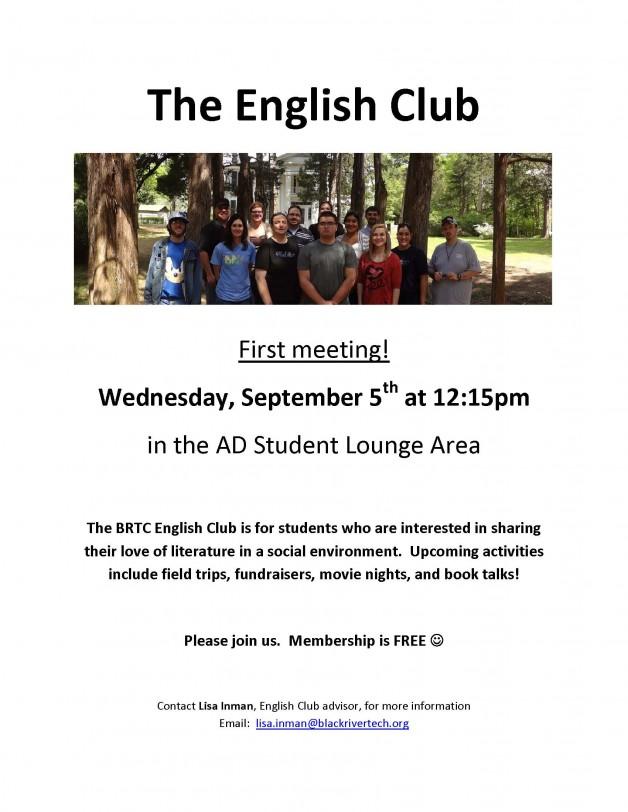 English Club Meeting